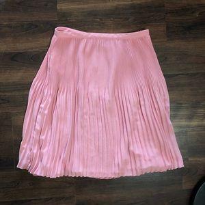 Pink pleated skirt 🎀